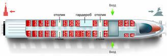 Схема сапсана питер-москва 5 вагон